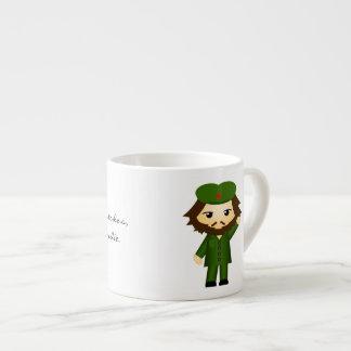 Hasta la victoria siempre espresso cup