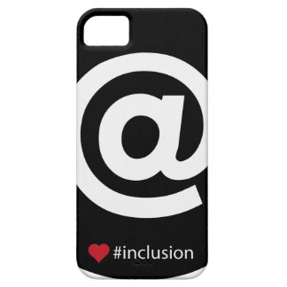 Hasthtag inclusion barely there iPhone 5 case
