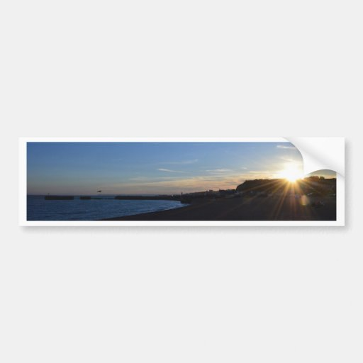 Hastings At Sunset Bumper Sticker