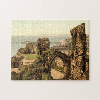 Hastings Castle, Hastings, Sussex, England Jigsaw Puzzle
