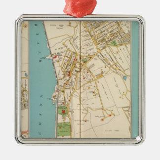 Hastings, Dobbs Ferry, Irvington Metal Ornament