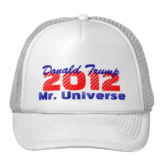 Hat 2012 The Donald Trump Mr. Universe President
