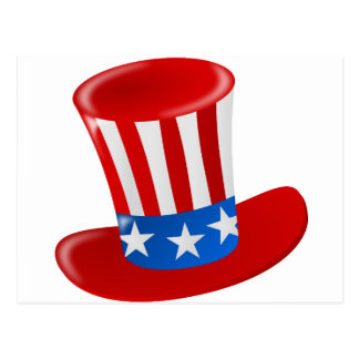 hat america uncle sam uncle sam hat post cards