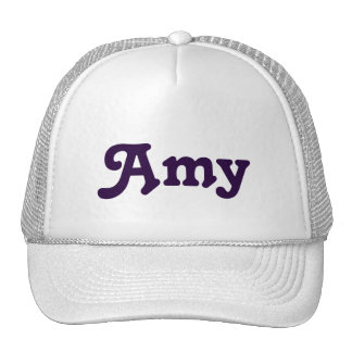 Hat Amy
