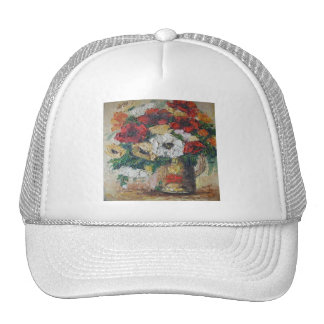 Hat Ann Hayes Painting Flower Mix Delight