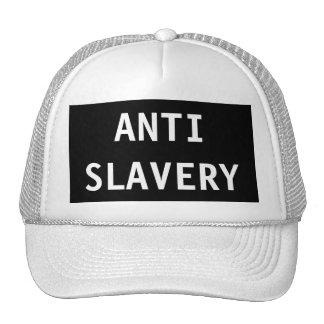 Hat Anti Slavery Black