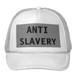 Hat Anti Slavery Grey