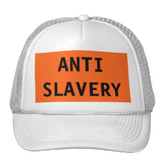 Hat Anti Slavery Orange