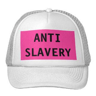 Hat Anti Slavery Pink