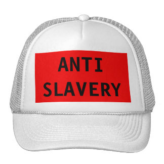 Hat Anti Slavery Red