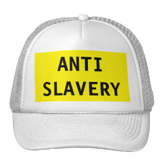 Hat Anti Slavery Yellow