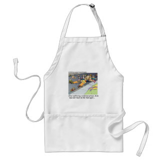 Hat Attack Funny Gifts Tees & Collectibles Standard Apron