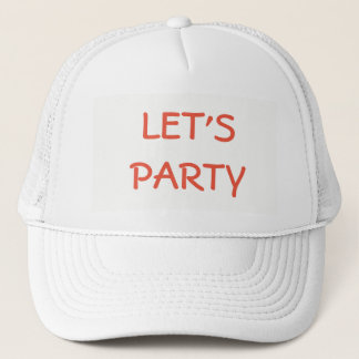HAT    BASEBALL  CUSTOMIZE  W/NAME     LET'S PARTY