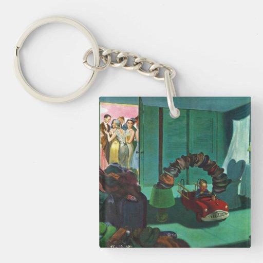 Hat Bridge Acrylic Key Chains