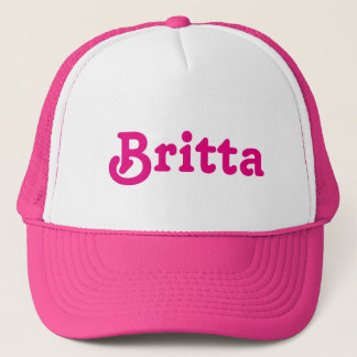 Hat Britta