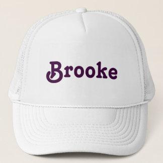 Hat Brooke