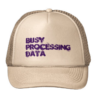 Hat - busy processing data