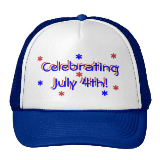 Hat - Celebrating July 4th