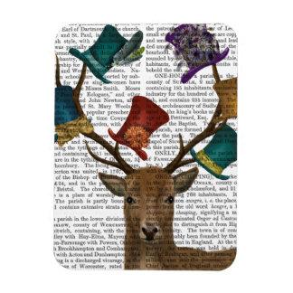 Hat Collector Deer Rectangular Photo Magnet