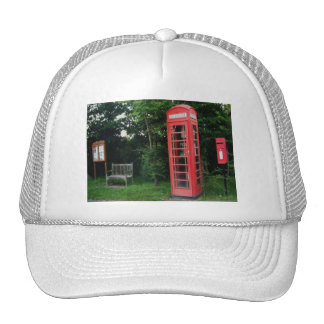 Hat Countryside Red Phone and Mail Box