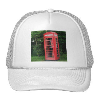 Hat Countryside Red Phone Box