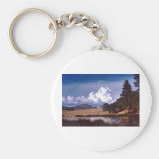 Hat Creek Basic Round Button Key Ring