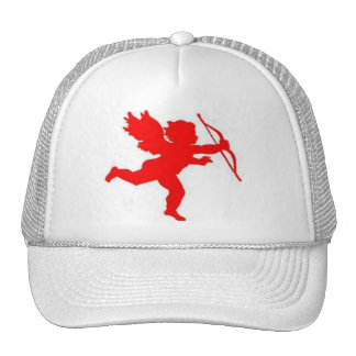 Hat Cupid Red Plain