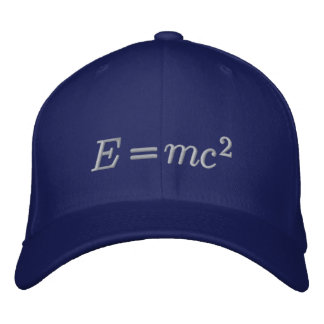 Hat: Einstein, ash thread Embroidered Hat