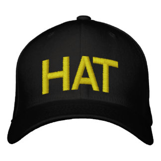 HAT EMBROIDERED BASEBALL CAP