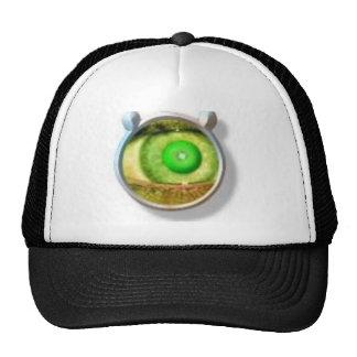 Hat Eye Green Lid