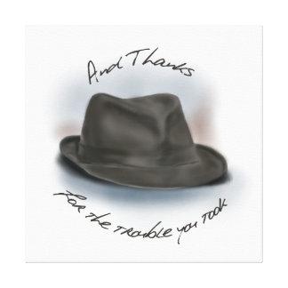 Hat for Leonard 1 Stretched Canvas Prints