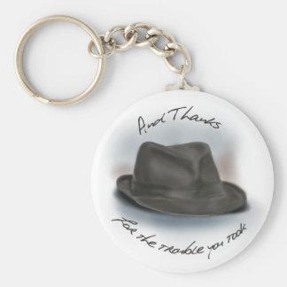 Hat for Leonard 1 Key Ring