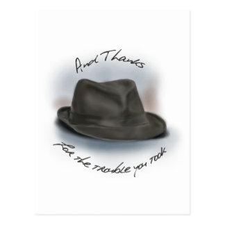 Hat for Leonard 1 Postcard
