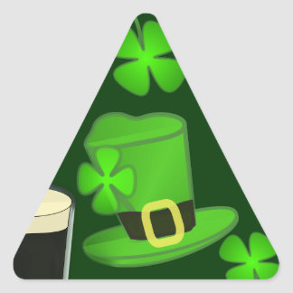 Hat for St Patricks Day Stickers