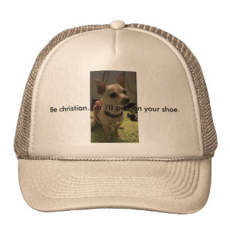 Hat/Funny christian/witnessing chihuahua Cap