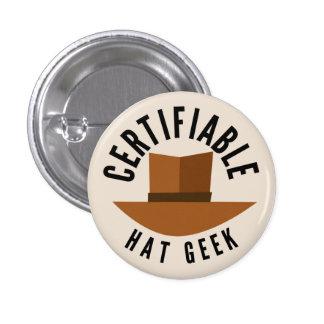 Hat Geek Pin