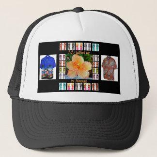 Hat, Hawaii Tapestry Trucker Hat
