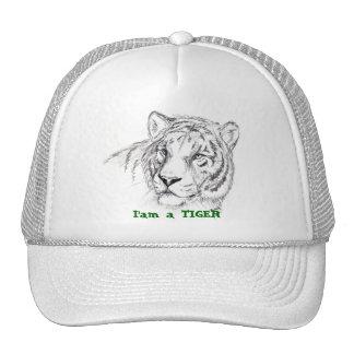hat, I'am a TIGER Cap