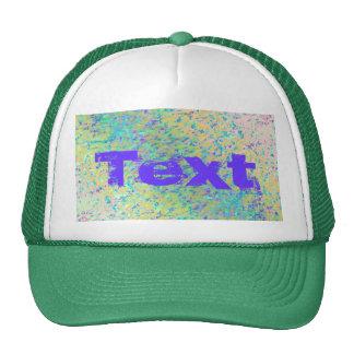 Hat Informel Art Abstract