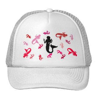 Hat - Jumbled Mermaids in Pinks