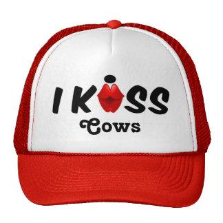 Hat Kiss I Kiss Cows