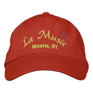 Hat La Music Moravia NY Embroidered Baseball Cap