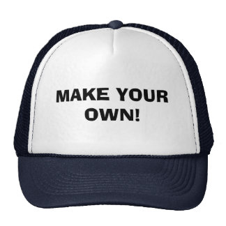 HAT - MAKE YOUR OWN!