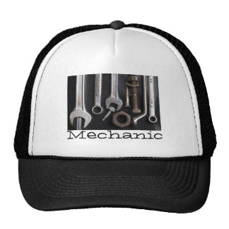Hat: mechanics bench tool cap