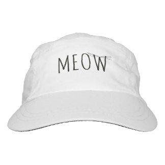 "Hat, ""Meow"" Design Hat"