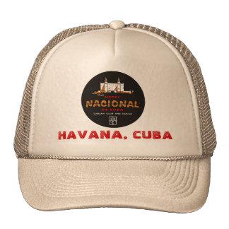 HAT NACIONAL HOTEL HAVANA CUBA VINTAGE ADVERTISING