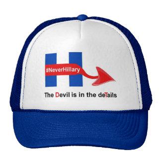 Hat Never Hillary The Devil Details