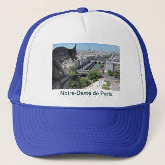 Hat: Notre-Dame de Paris - Gargoyle Trucker Hat