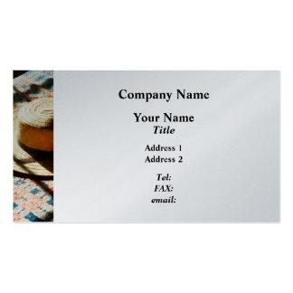 Hat on Bed - Platinum Pack Of Standard Business Cards