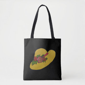 Hat Picture tote